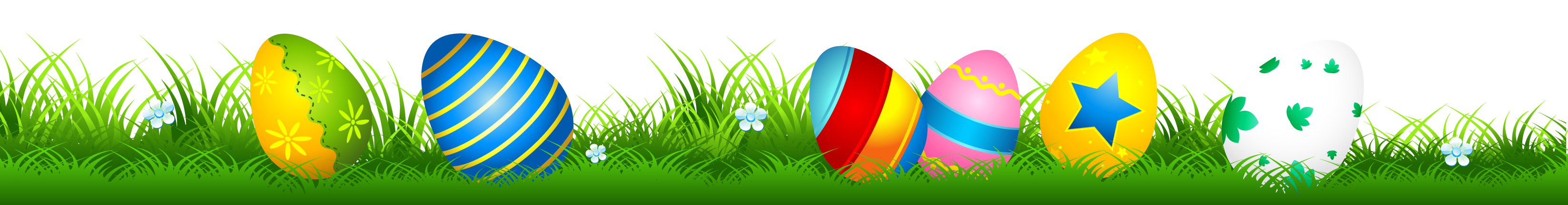 eggs vector grass