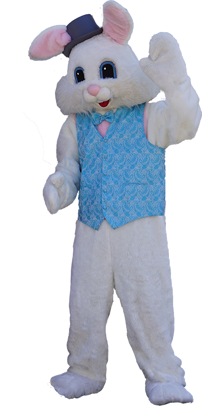 Easter bunny costume png. Character san diego kids