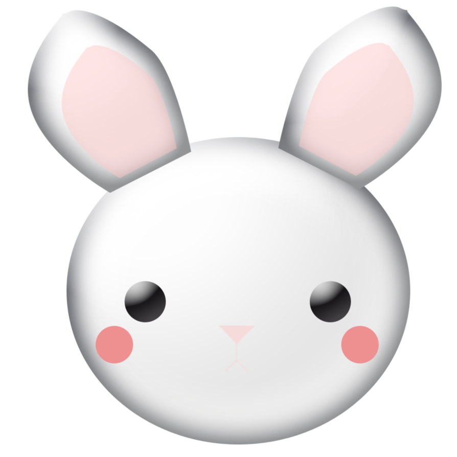 Rabbits Drawing Face Transparent Png Clipart Free Download Ya
