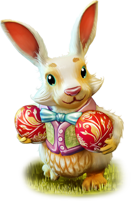 Bunny png. Image illus easter dreamfields
