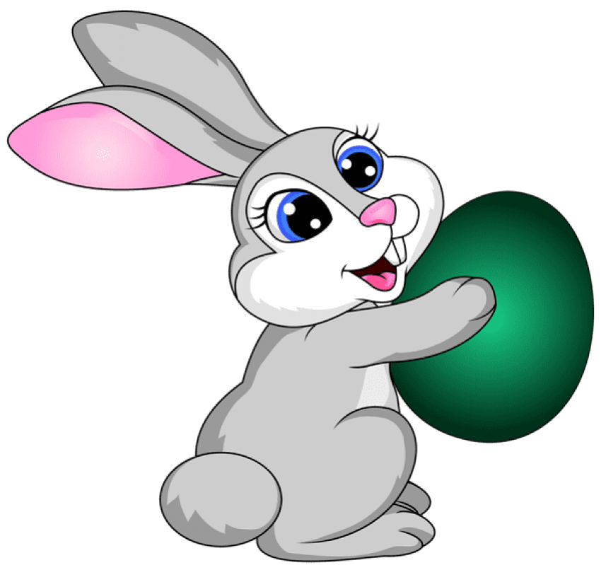 Easter bunny png free. Download with egg transparent