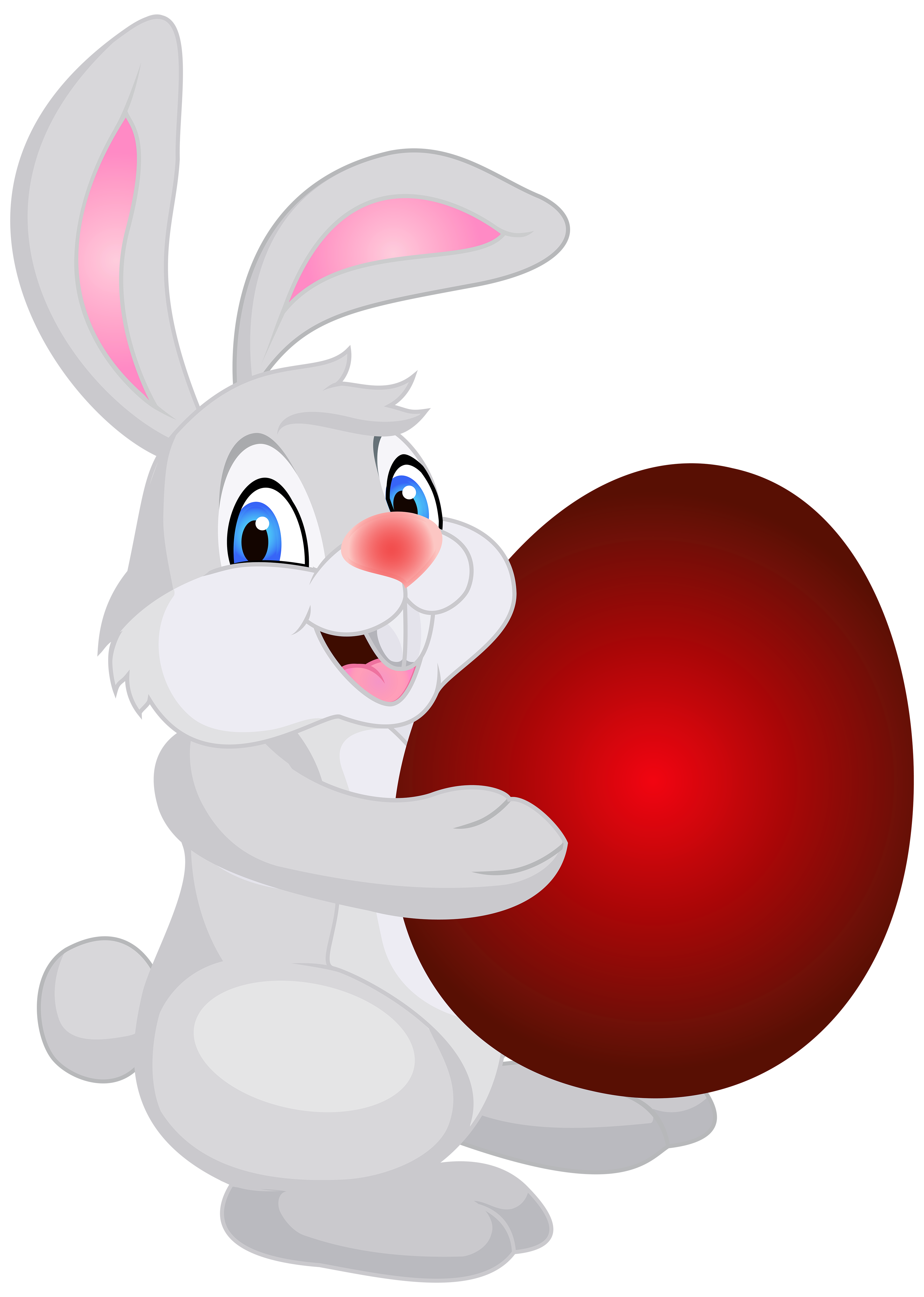 Easter bunny png free. With egg clip art