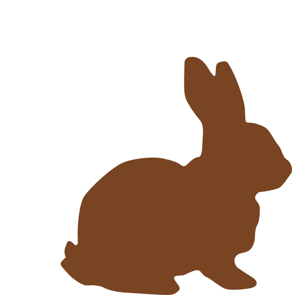 Easter bunny vector png. Chocolate clip art at