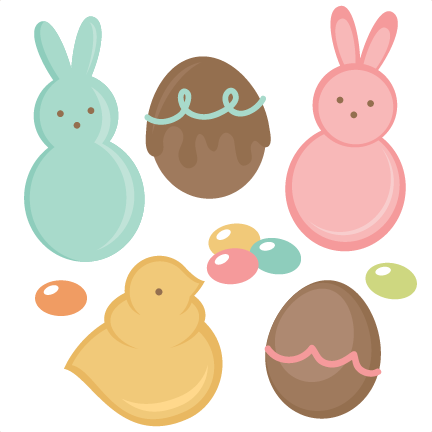 svg box easter treat