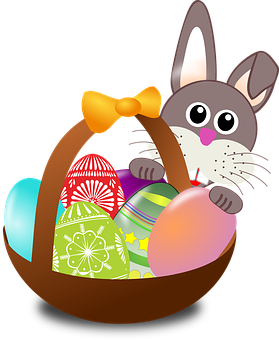 Easter clip beautiful. Basket ideas surprise and