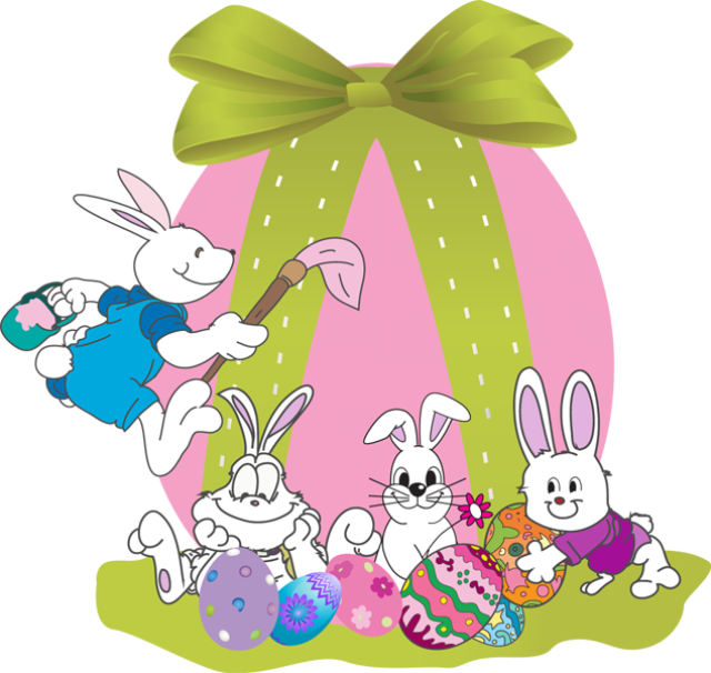 Easter clip beautiful. Web design development art