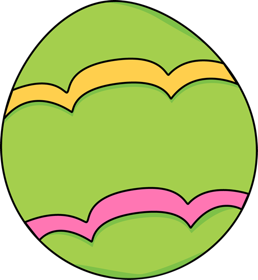 Easter clip green. Clipart eggs huge