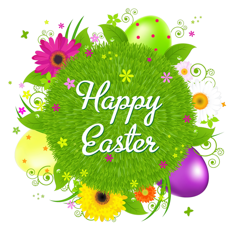 Happy easter clipart religious. Transparent decor png picture