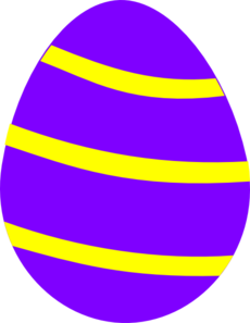 Easter clip row. Egg clipart free at