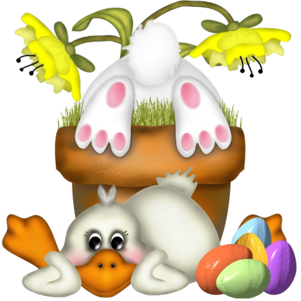 Easter clip transparent background. Images are on a