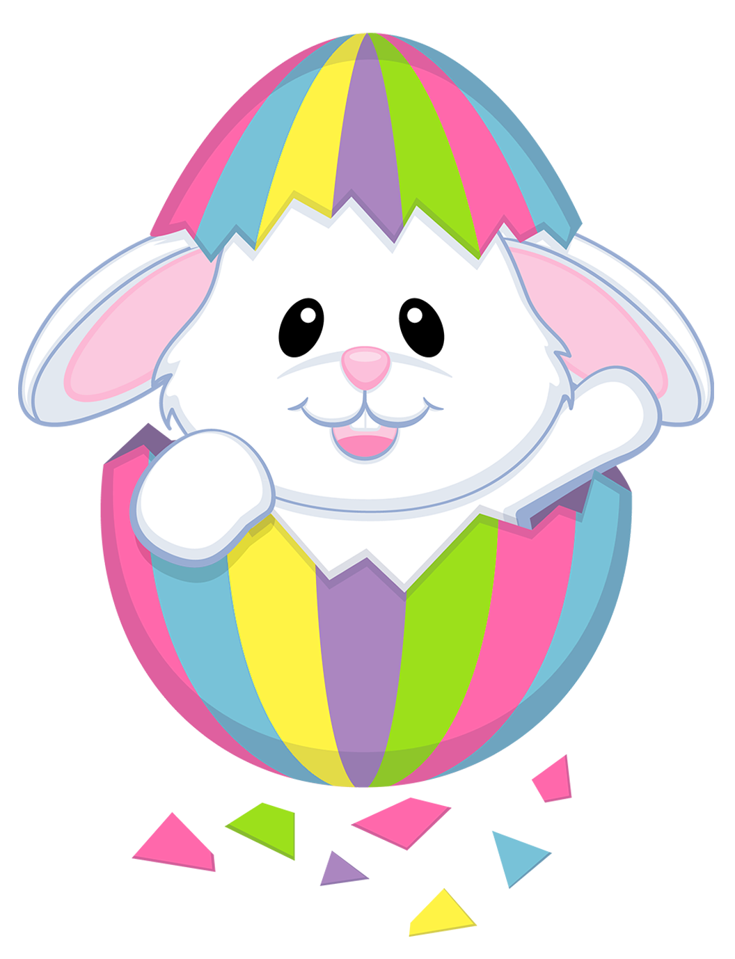 drawing egg easter bunny