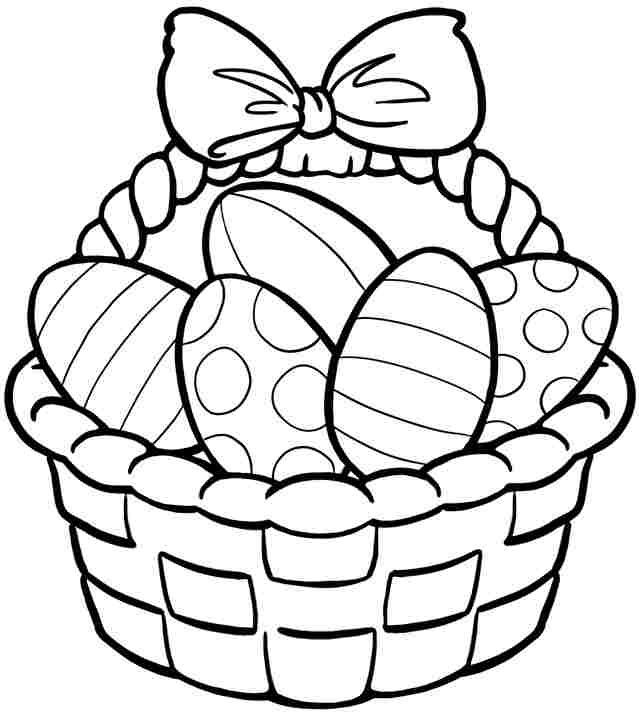 Easter clipart colour. To color popular trend