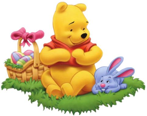 easter clipart winnie the pooh
