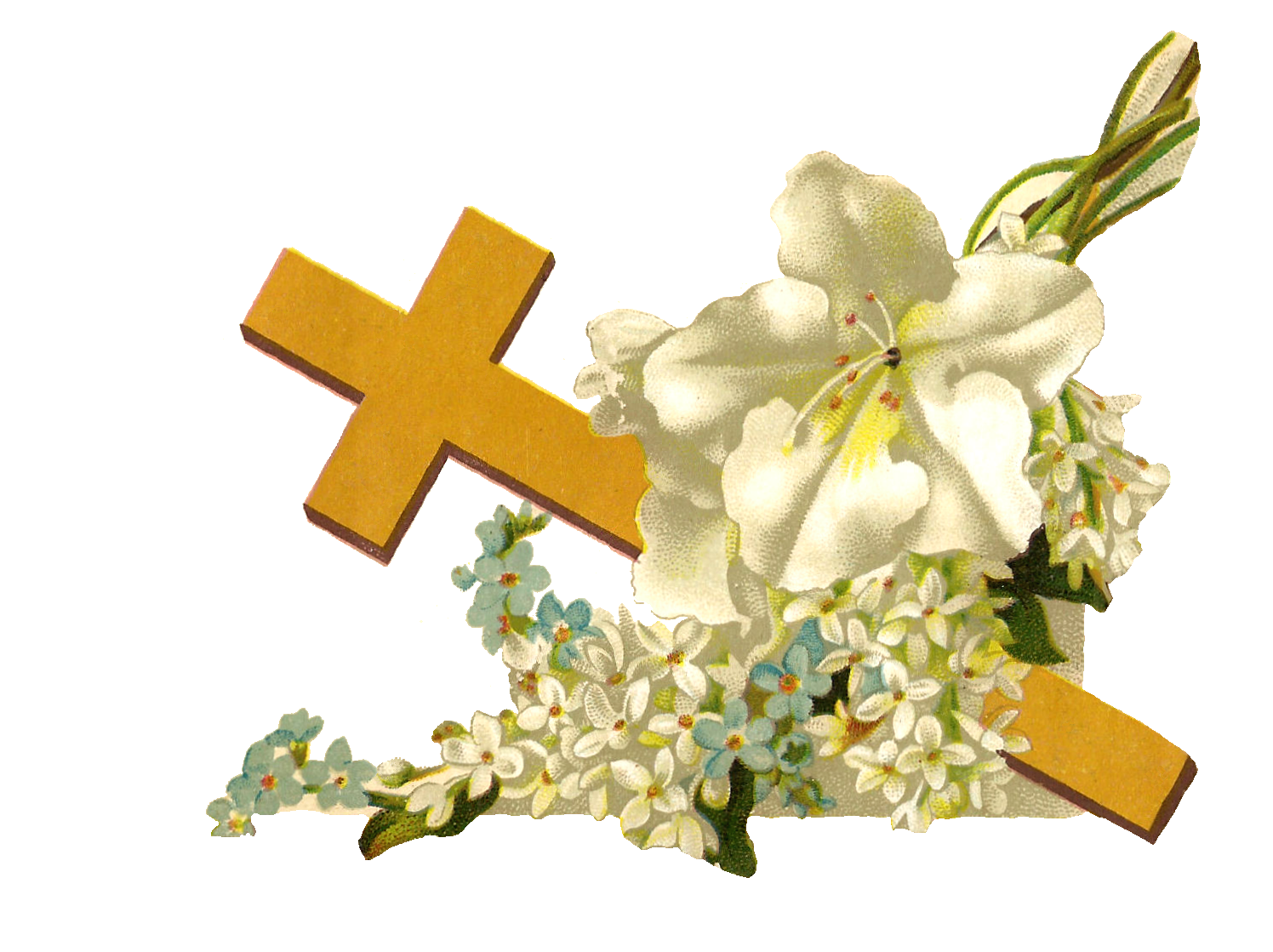Easter cross clipart png. Rose gold black and