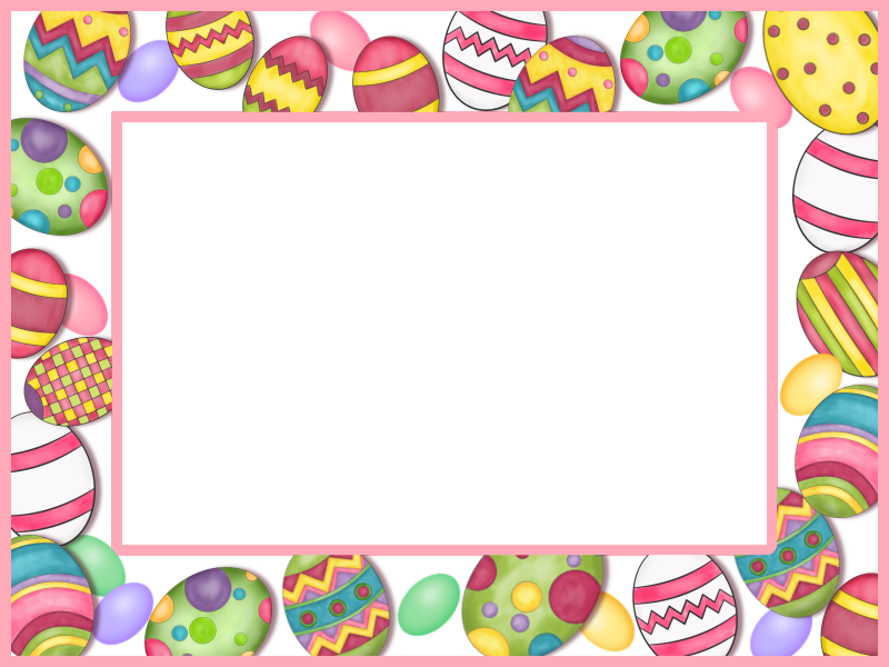 Easter egg border png. Free transparent files and