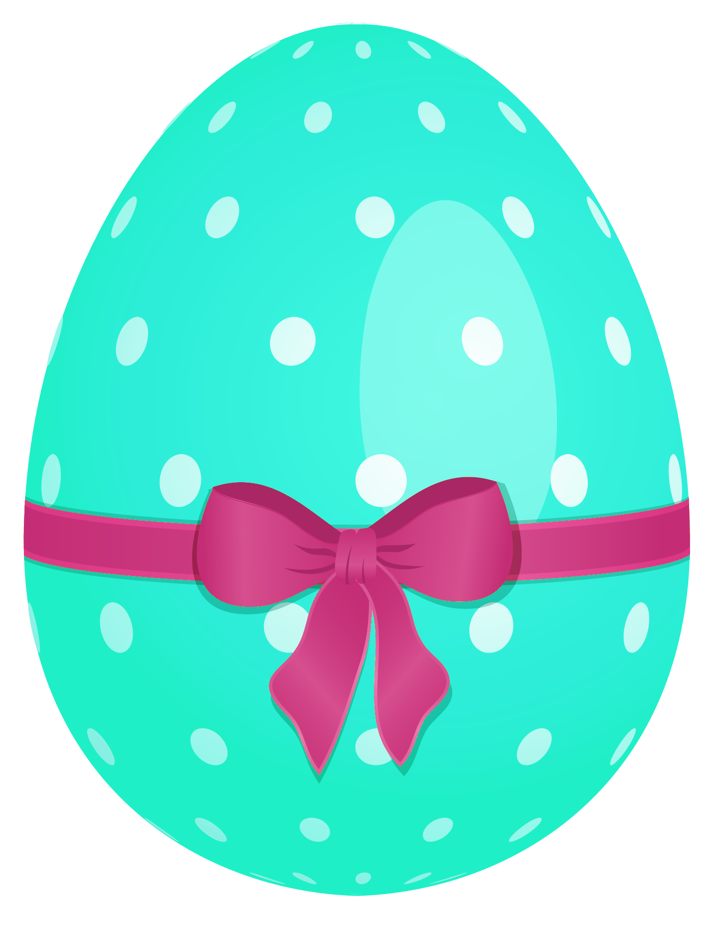 Easter egg clip art png. Sky blue with green