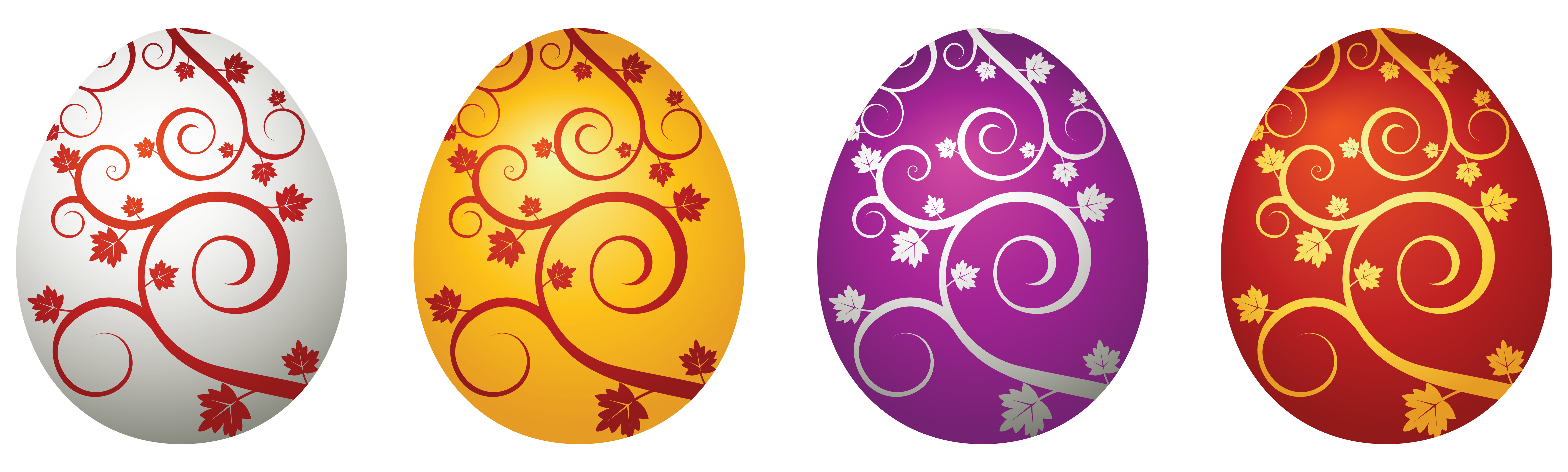 Easter egg designs png. Eggs decorative clipart picture