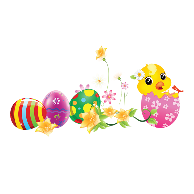 Easter egg tree png. Colorful s festival and