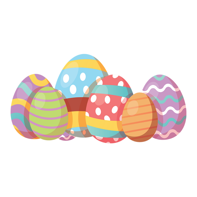 eggs vector gold