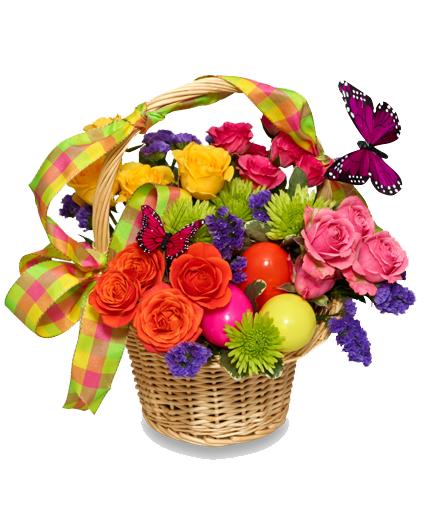 Easter flowers bouquet png. Flower transparent images all
