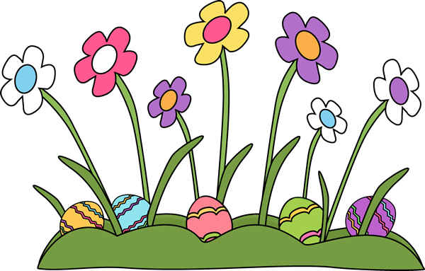 Easter flowers png. Eggs