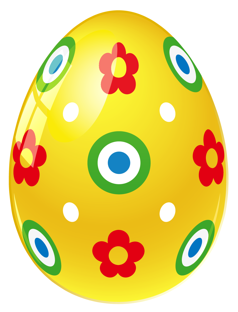 Easter garland png. Eggs clipart group yellow