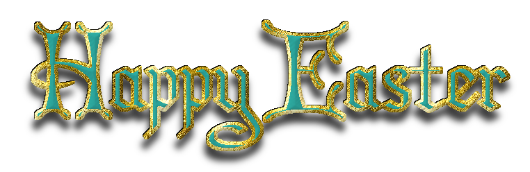 Happy easter png vintage. Text image