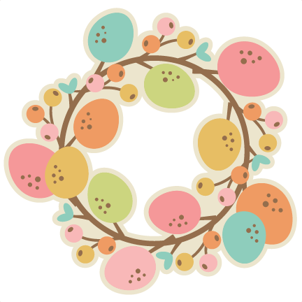 Easter wreath png