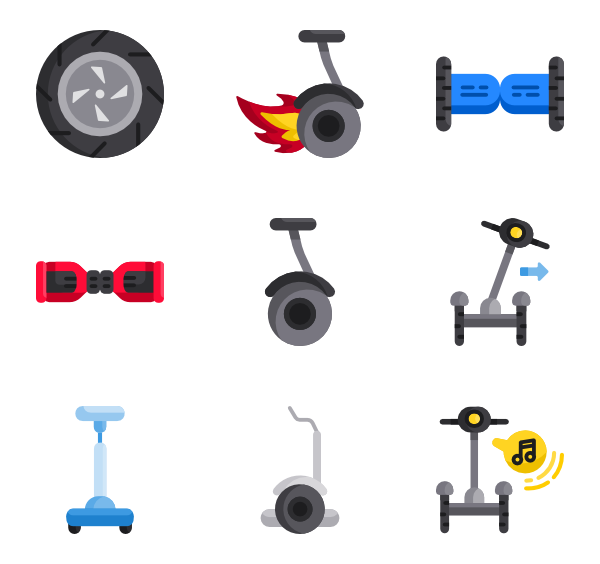 Balance icons free self. Scooter vector clipart freeuse library
