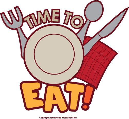 Eat clipart. Time to