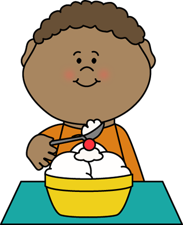Eating clipart boy. Eat breakfast for free