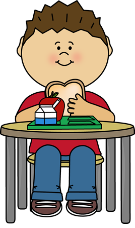 Eating clipart boy. Cafeteria lunch clip art
