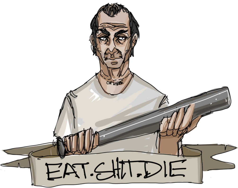 Eat shit png. Die by thisisnotwitty on