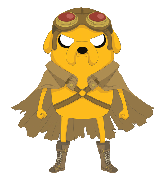 Echo drawing adventure time. Image jake steampunk png