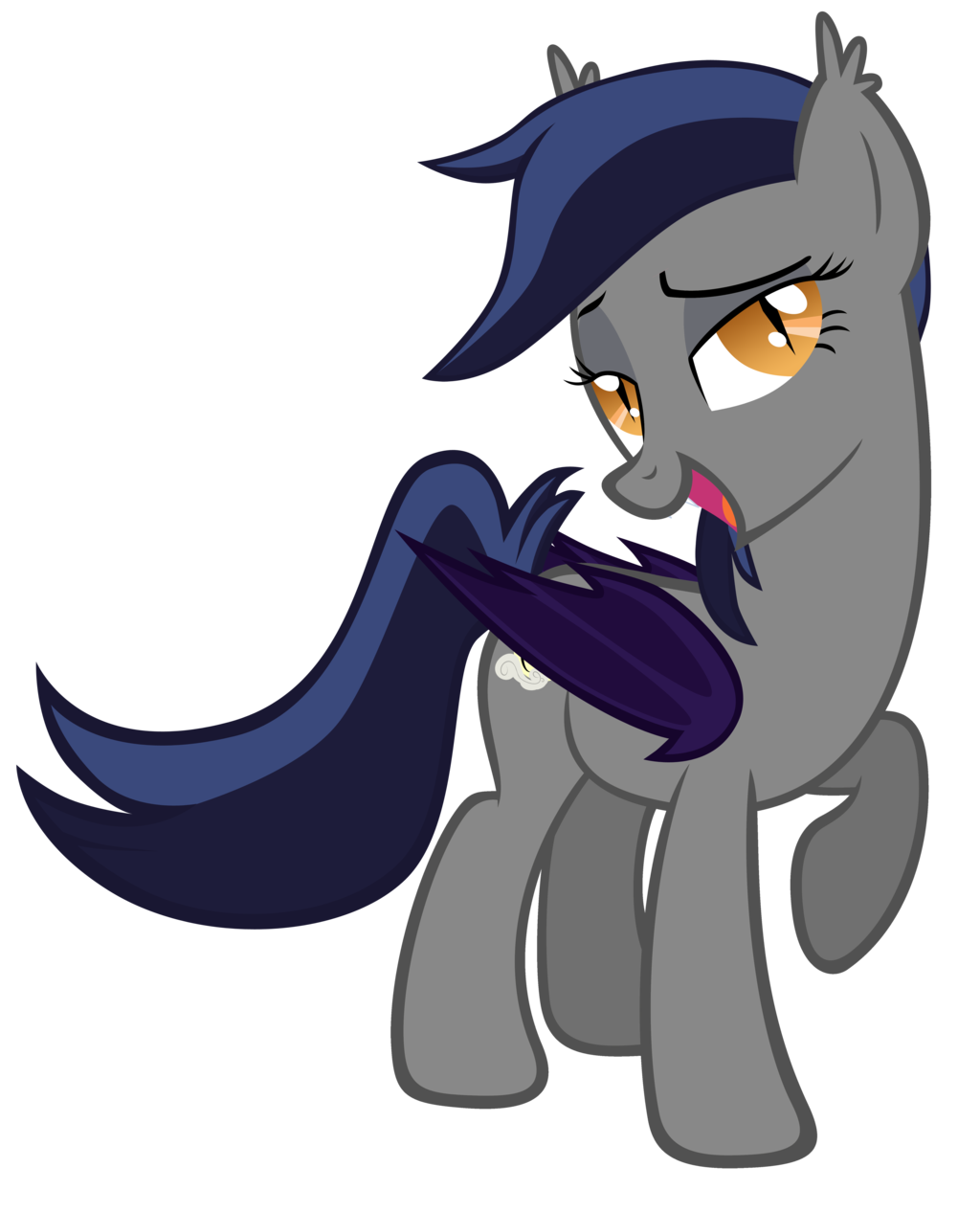 Echo drawing cool. The bat pony by
