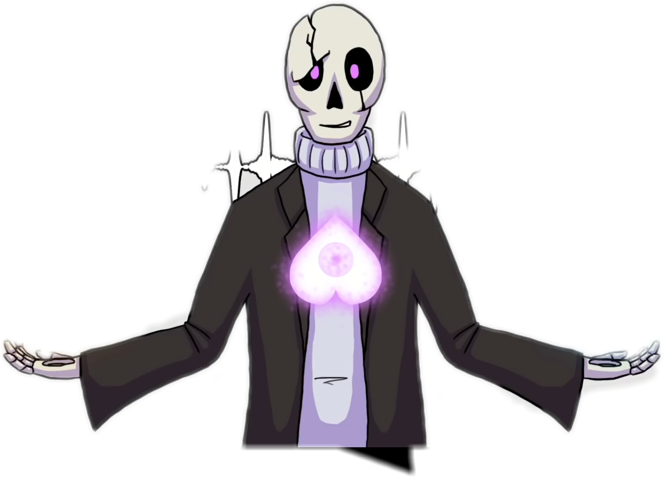 Echo drawing vocaloid. This is a gaster