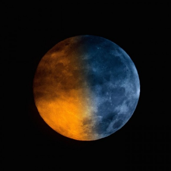 Eclipse clipart blue red moon. Arrives early wednesday jan