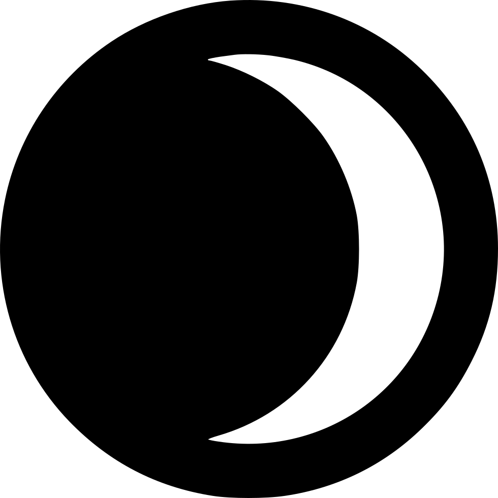 Eclipse clipart svg. Lunar png icon free