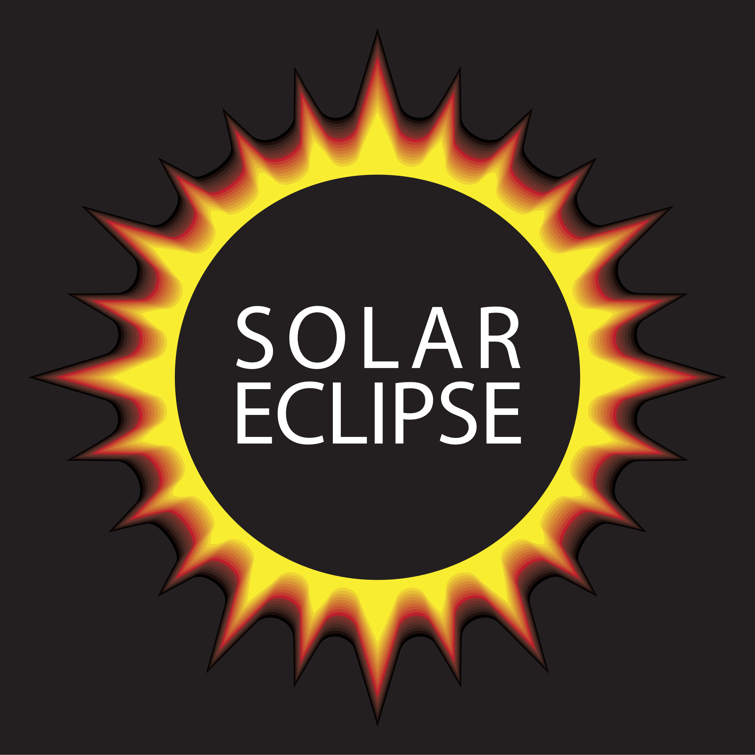 Eclipse clipart svg. Solar complete icons png
