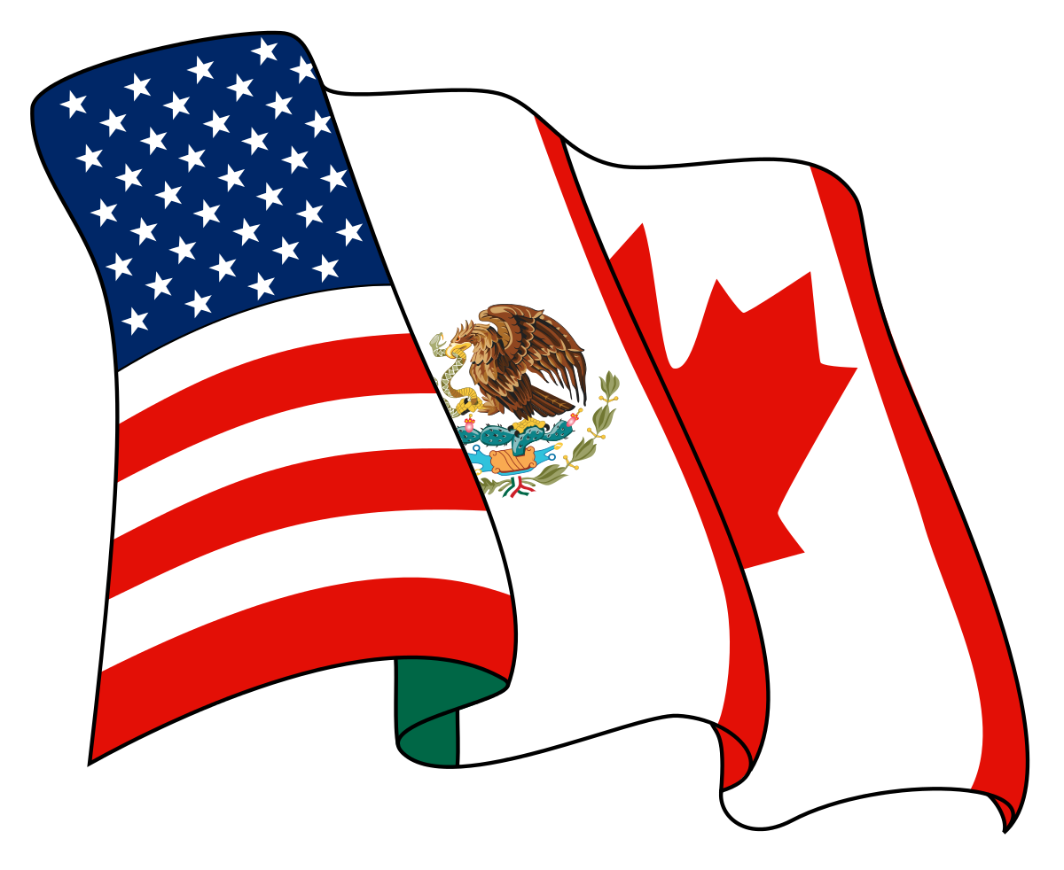 American clipart right state. North free trade agreement
