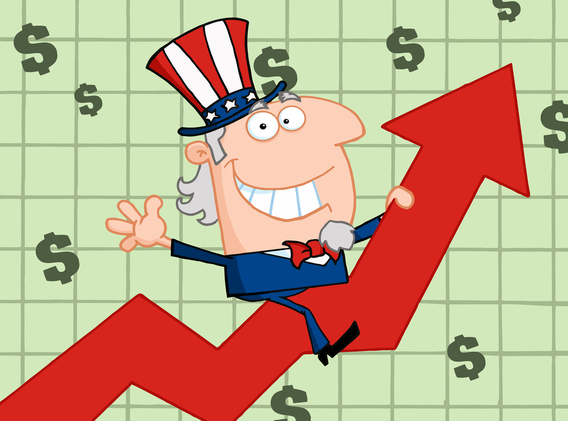 Economy clipart strong economy. American literature since on