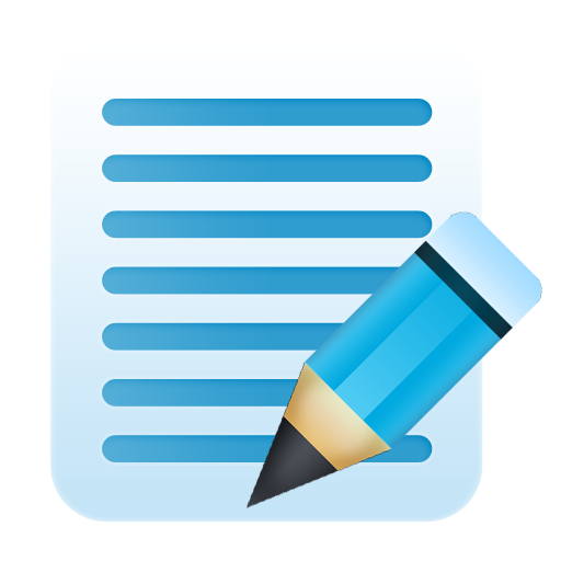 Edit delete icon png. Notes bunch of bluish