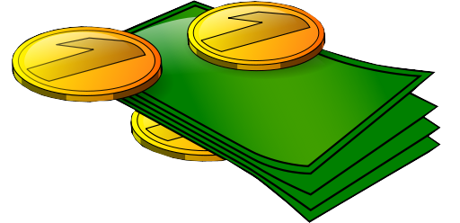 Edit png file transparent background. Bills and coins wikimedia