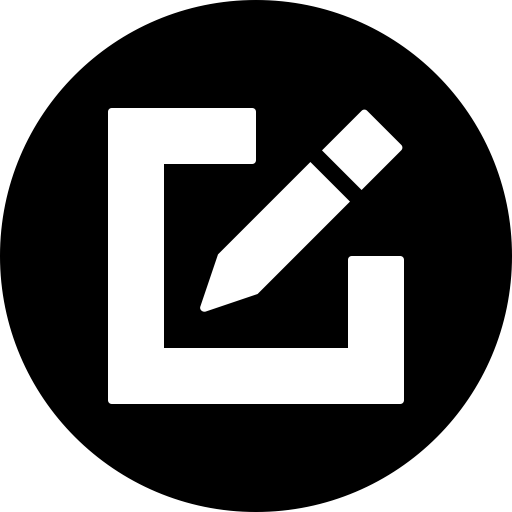 Edit png picture. Editor graphic write icon