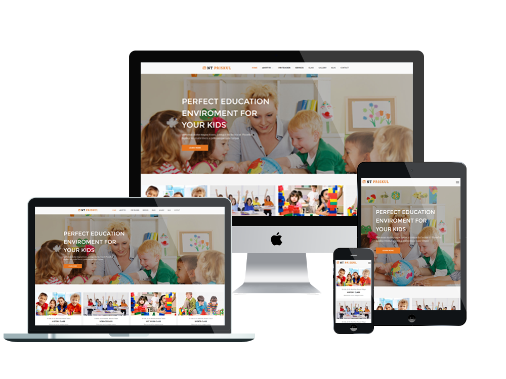 Educational vector education theme. Top best free wordpress