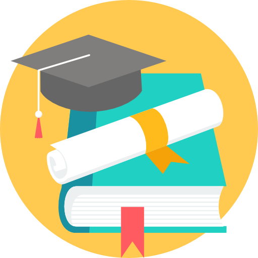Educational vector scholarship. Free education icons icon