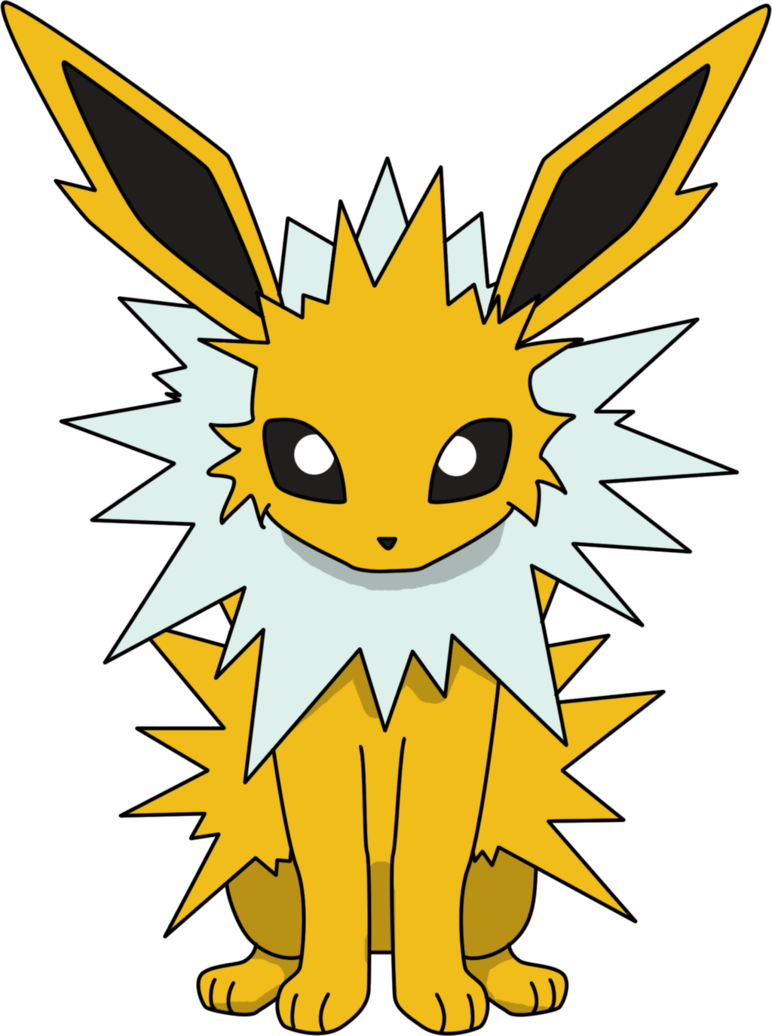 pokemon red jolteon sprite png