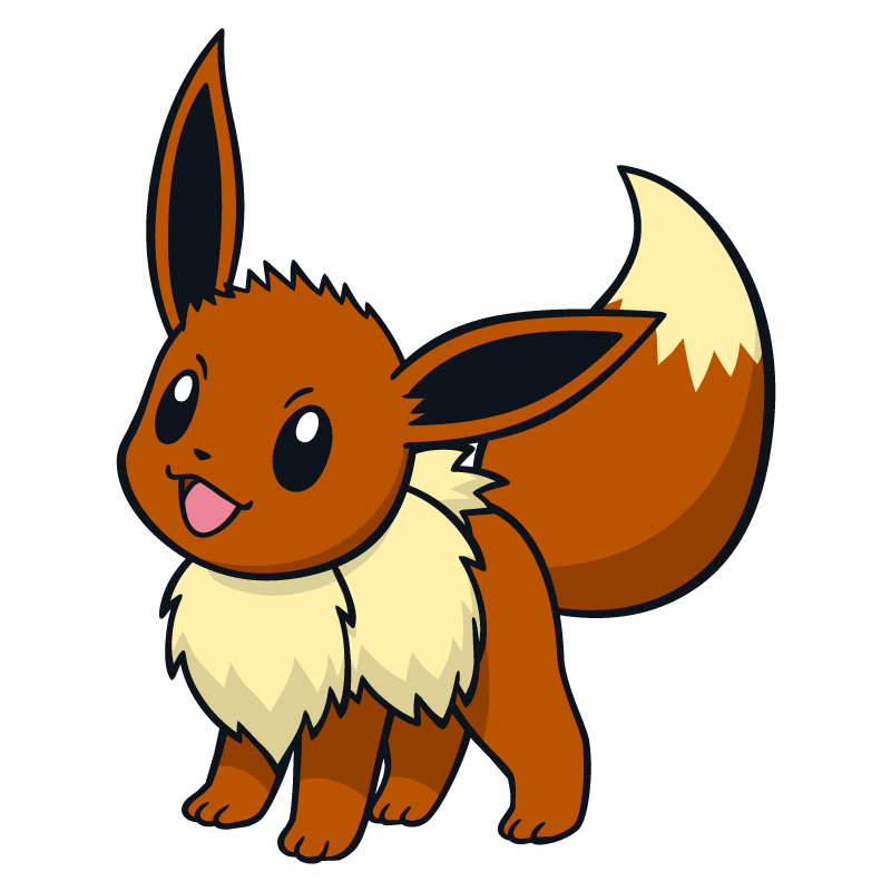 Eevee png. Images in collection page