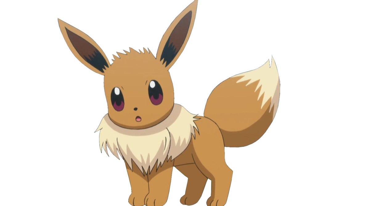 Eevee png. By ashleytheskitty on deviantart
