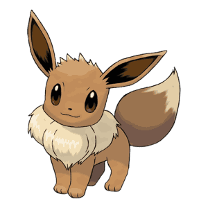 Eevee pokemon go png. Max cp evolution moves
